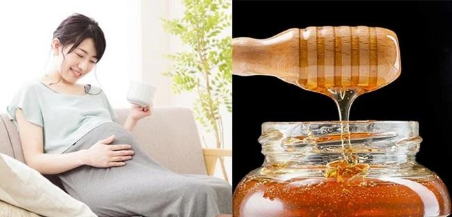 đang mang bầu uống mật ong được không