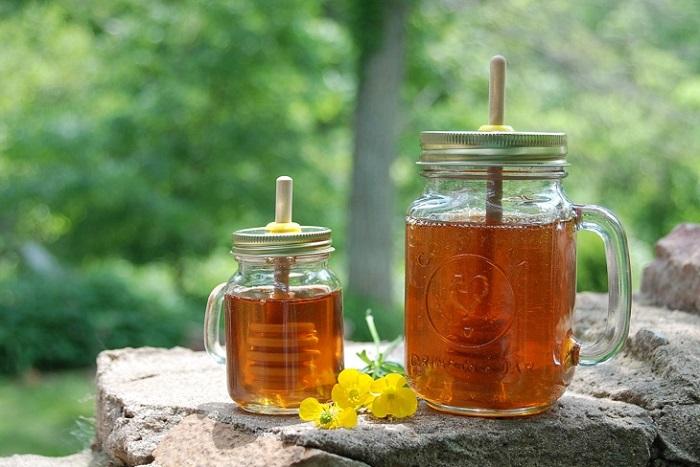 cách làm mật ong hết bọt nhanh