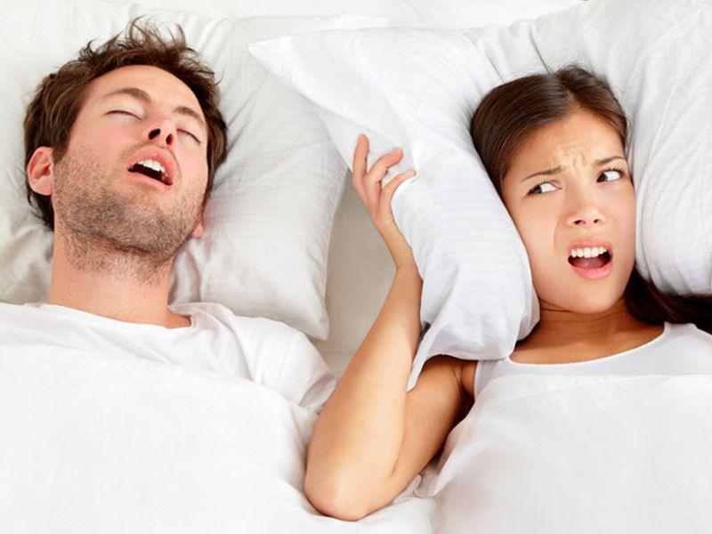 Ngủ ngáy gây khó chịu cho những người xung quanh