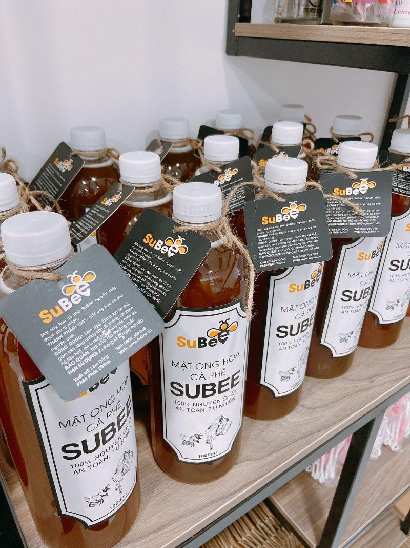 Mật ong hoa cà phê Subee được khách hàng đánh giá cao về chất lượng