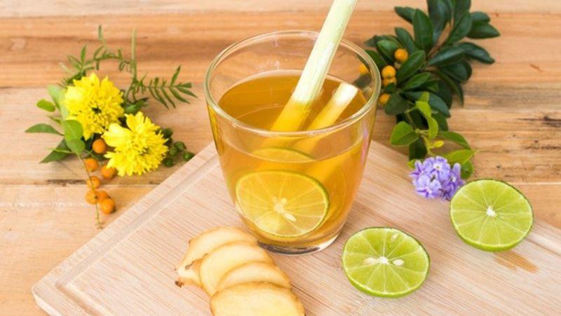 Nước chanh mật ong gừng