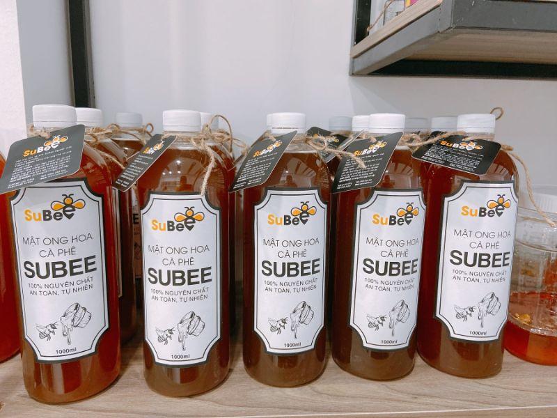 Mật ong hoa cà phê nguyên chất tại Subee