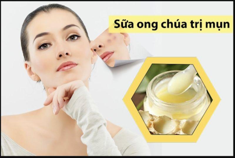 Sữa ong chúa tươi giúp ngăn ngừa lão hóa