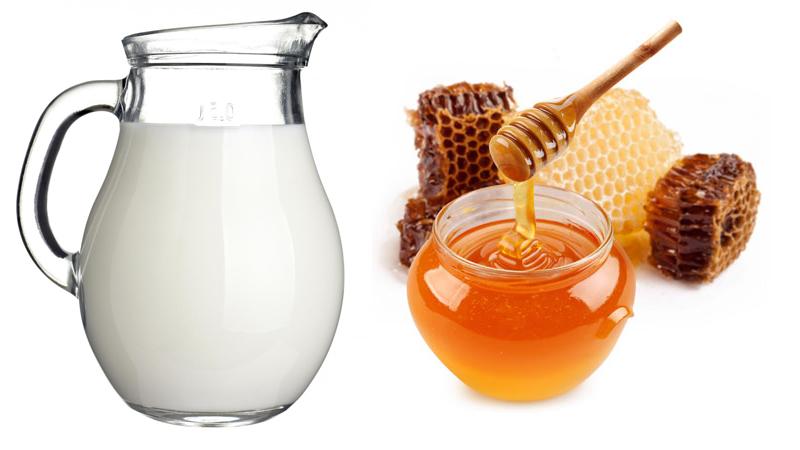 dưỡng ẩm cho da với mật ong và sữa tươi