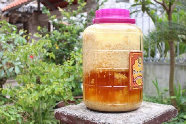Rượu mật ong với nếp