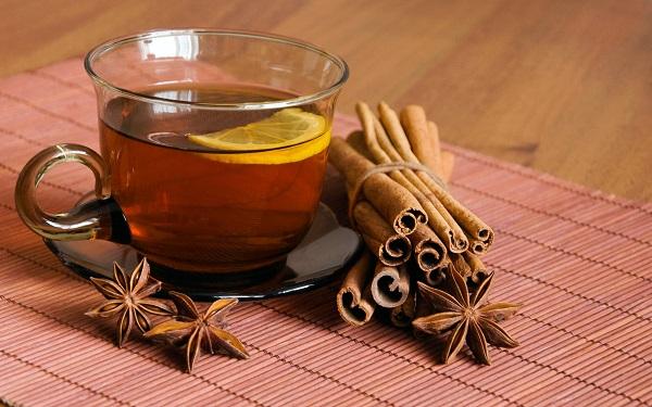trà lipton mật ong quế