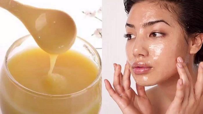 làm đẹp da bằng sữa ong chúa với da mặt nguyên chất
